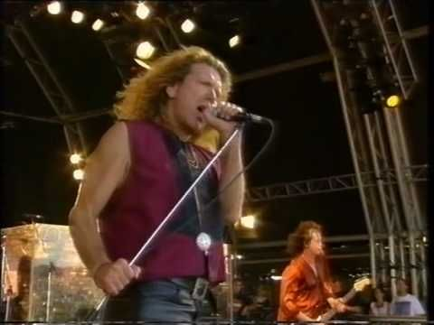 ▶ In The Evening. Page and Plant at Glastonbury 95 - YouTube