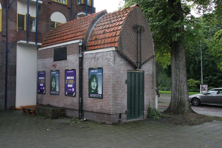 Transformatorhuisje, Groningen | Wendingen ~ Platform voor de Amsterdamse School