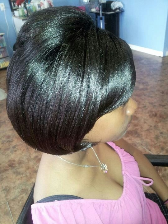 Roller Wrap On Natural Hair