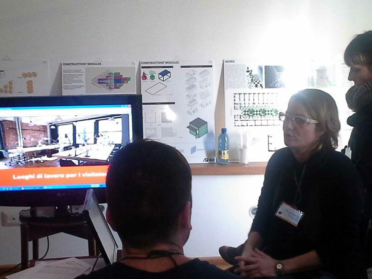 Panel della 2a giornata: una proposta comune di fruizione degli spazi di coworking in Italia in occasione dei 6 mesi di Expo 2015 | La Fabbrica dei Mestieri #EC13 #coworking