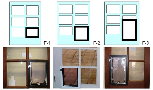 French Doors With A Dog Door This Is What You Can Do