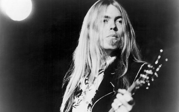 Gregg Allman of the Allman Brothers Band, this was some of the true rock and roll. Description from pinterest.com. I searched for this on bing.com/images