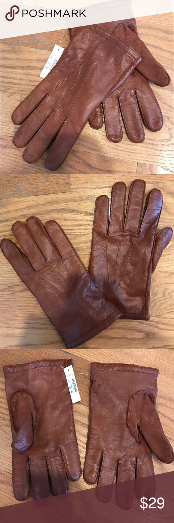 Extra small ladies leather gloves uk - Mens J Crew Brown Leather Gloves Men S J Crew Soft Leather Gloves With Knit