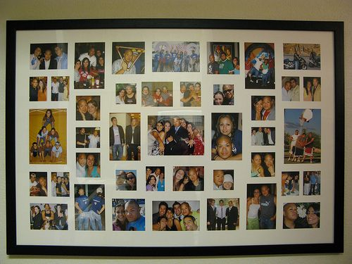 Big Picture Frame Decor Ideas