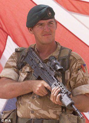 Royal Marine, Sergeant Alexander Blackman