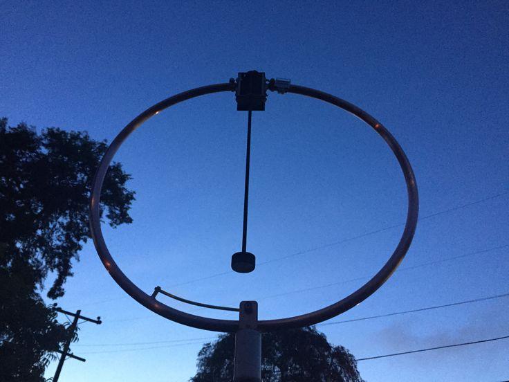 HB9MTN MAGNETIC LOOP FOR 80M 40M Ham radio Ham