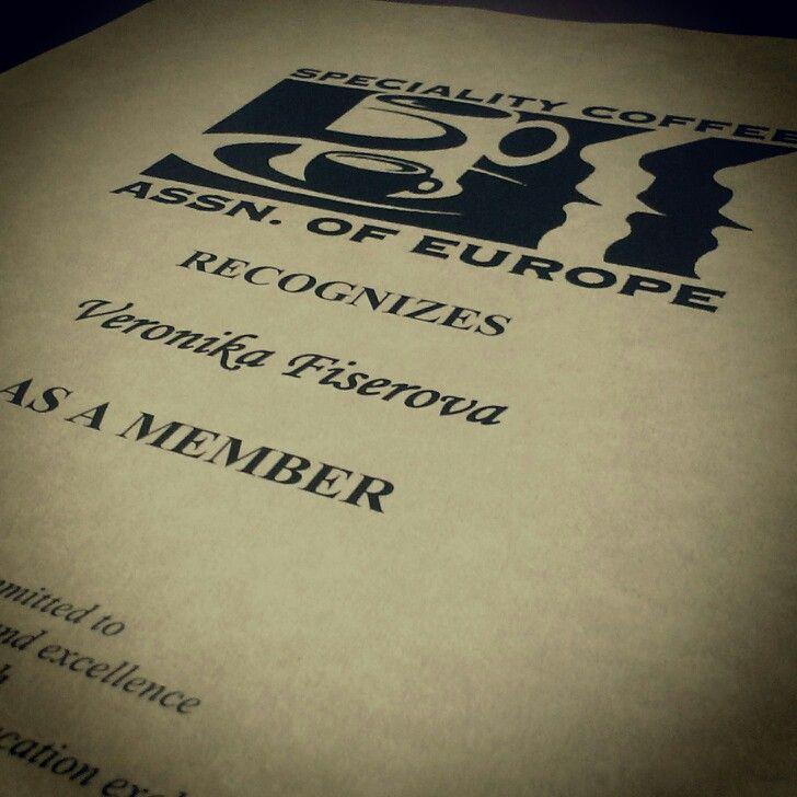 My new membership ;-)