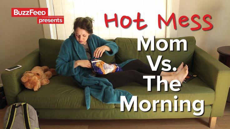 Hot Mess Mom Vs. The Morning
