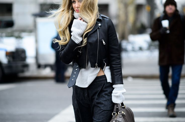 On the Streets of New York Fashion Week Fall 2015 - New York Fashion Week Fall 2015 Street Style Day 3