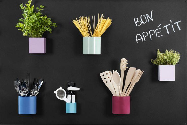 Magnettafel für die Küche : von Greenbop Mit unseren starken Neodym-Magneten baut Ihr diese Tafel ganz einfach selber nach