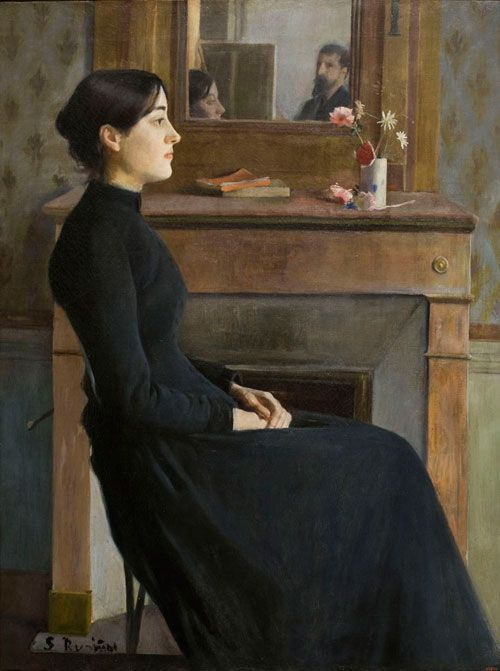 Female Figure by Santiago Rusiñol, 1894
