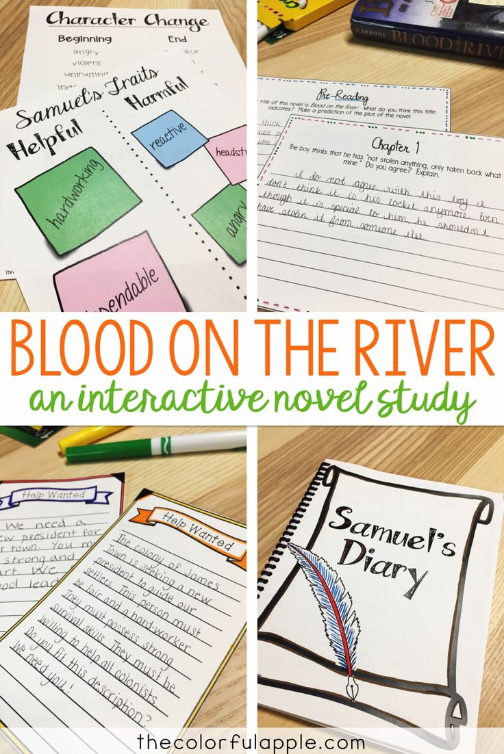 Blood on the River is a great novel to bridge your ELA and Social Studies curriculums, as you teach the founding of James Town in 1607. This unit is chock full of ideas, activities, anchor charts and lesson plans to bring this book to life in your classroom!