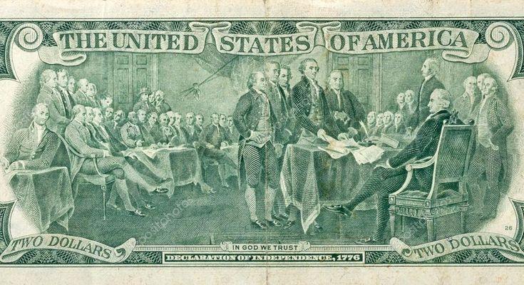 code qr   Unterzeichnung der Unabhängigkeitserklärung — Stockfoto © panama7 ...