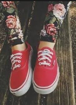 Vans rosse