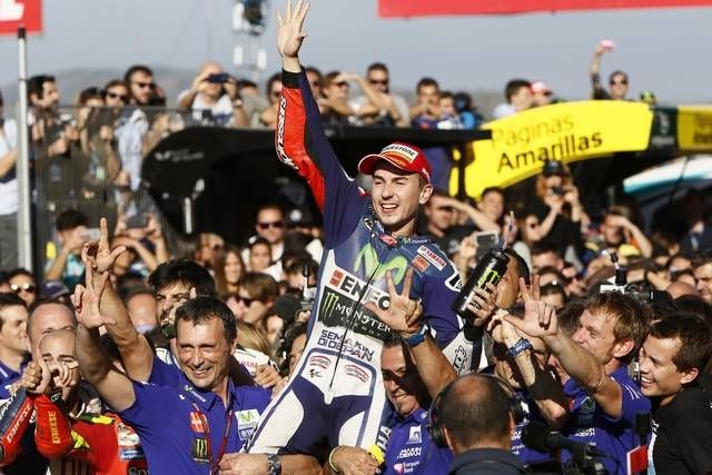 #Yamaha - #Lorenzo Clinches #MotoGP World Championship Title with a Faultless Win in #Valencia