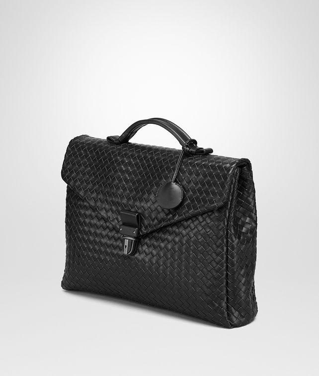 Bottega Veneta®   Nero Intrecciato Small Briefcase   Entirely crafted from Bottega  Veneta s signature intrecc…   Bottega Veneta®   Bags   Luxe-Edit.com ... dd18f0a615