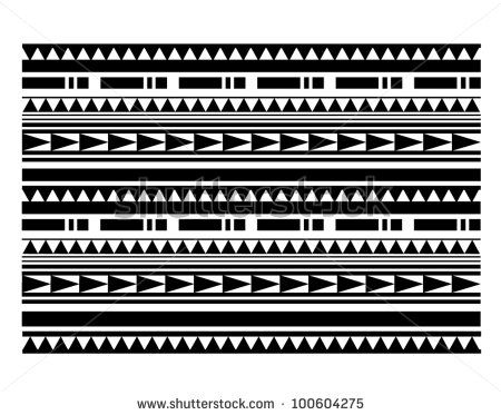 Maori / Polynesian Style bracelet tattoo