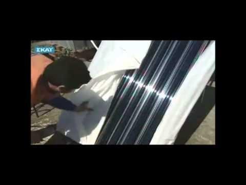 """Δες την εγκατάσταση ενός ηλιακού θερμοσίφωνα Calpak Vacuum στη Θεσσαλονίκη από την εκπομπή """"Μπες στο κλίμα"""" της τηλεόρασης του ΣΚΑΙ.  Ο συγκεκριμένος ηλιακός ενδείκνυται για περιοχές με περιορισμένη ηλιοφάνεια και κρύο και θα επιφέρει σημαντική εξοικονόμηση ενέργειας. Έτσι πετυχαίνουμε και μείωση του λογαριασμού της ΔΕΗ αλλά και συνεισφέρουμε στην προστασία του περιβάλλοντος!  Για να μάθεις περισσότερα για τους ηλιακούς θερμοσίφωνες Calpak Vacuum και τις τιμές τους επισκέψου το…"""