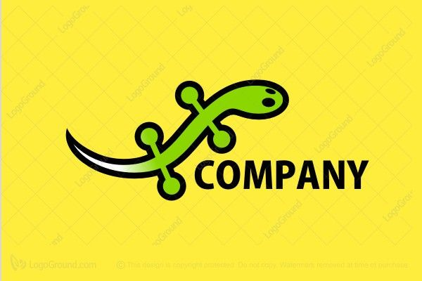 Logo for sale: Yellow Gecko Logo