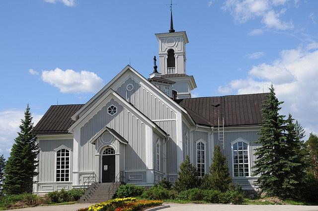 Viitasaaren kirkko, Finland