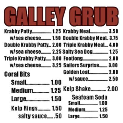 krusty+krab+menu | Krusty Krab Menu, a Decal by Meowmixxed ...