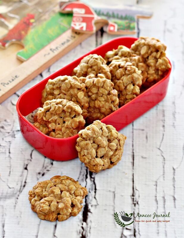 These Rolled Oats Biscuits Are Very Fragrant And Crunchy Even The