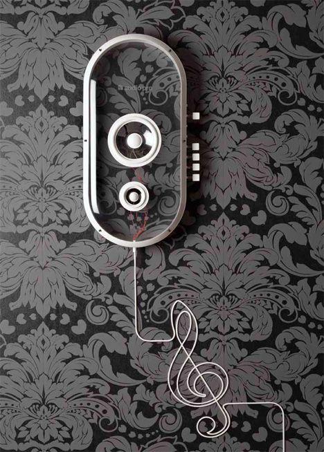 Plug  Play – Wireless Speaker System by Per Brickstad » Yanko Design