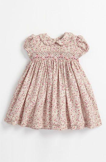 Luli & Me Floral Smocked Dress (Infant) available at #Nordstrom