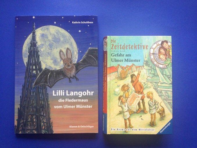 STORIES ÜBERS ULMER MÜNSTER - zwei Kinderbücher, die sich um die höchste Kirche der Welt drehen
