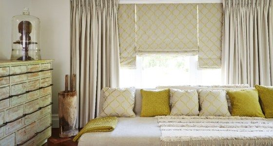 Here, we teamed understated Rodez Natural curtains with eye-catching Celeste Pistachio Roman blinds. - See more at: http://www.hillarys.co.uk/inspiration/2014/09/fabulous-fabrics-for-roman-blinds-and-curtains/#sthash.c2YRvSig.dpuf #fashion #interiors #trends #style
