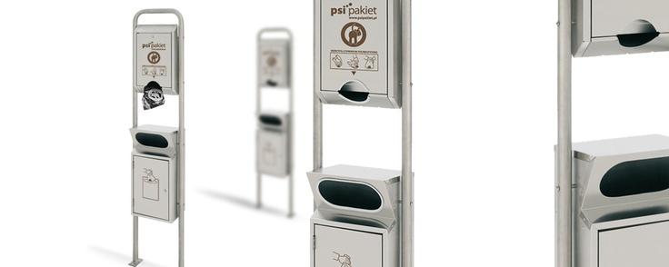 Urządzenia PSI Pakiet TYP 01a, 01b, 01c, 01d, 01e, wykonane są z wysokiej jakości ocynkowanej stali, lakierowanej proszkowo, odpornej na korozję oraz przypadkowe uszkodzenia mechaniczne. Konstrukcje posiadją stelaż do wbetonowania w gruncie. Dystrybutor worków ma mechanizm, ułatwiający pobieranie worków na psie odchody.