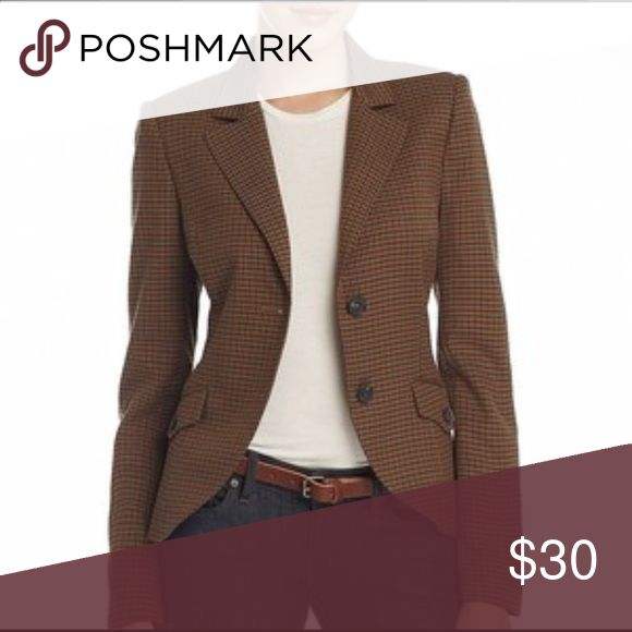 MNG by Mango Suit Blazer Checkered brown suit jacket-worn once Mango Jackets & Coats Blazers