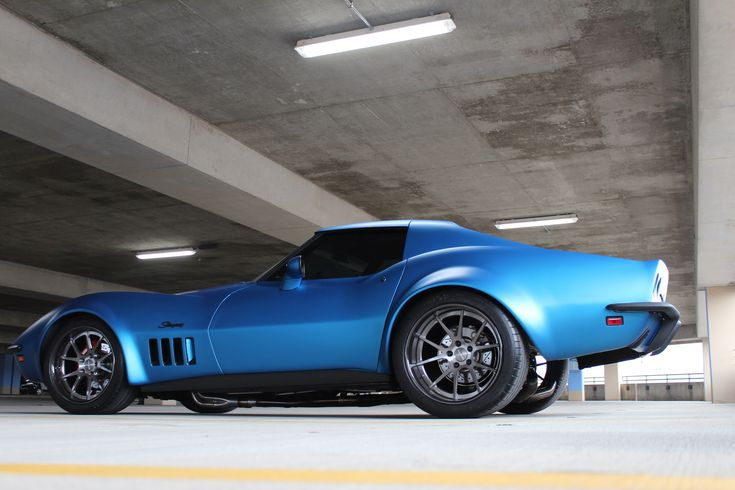 Do you wish that you still had your dad's old hot rod? Chris Wylie literally grew up with this '69 Corvette Stingray. And after his dad bought a new C6, Chris and the team at Custom Image Corvettes converted his childhood sweetheart into a modern pro-touring machine powered by a LS1 and riding on 18x10/19x12.5 Forgeline GA3C Concave wheels finished with Transparent Smoke centers & Black Pearl outers! See more at: http://www.forgeline.com/customer_gallery_view.php?cvk=1845 #Corvette…