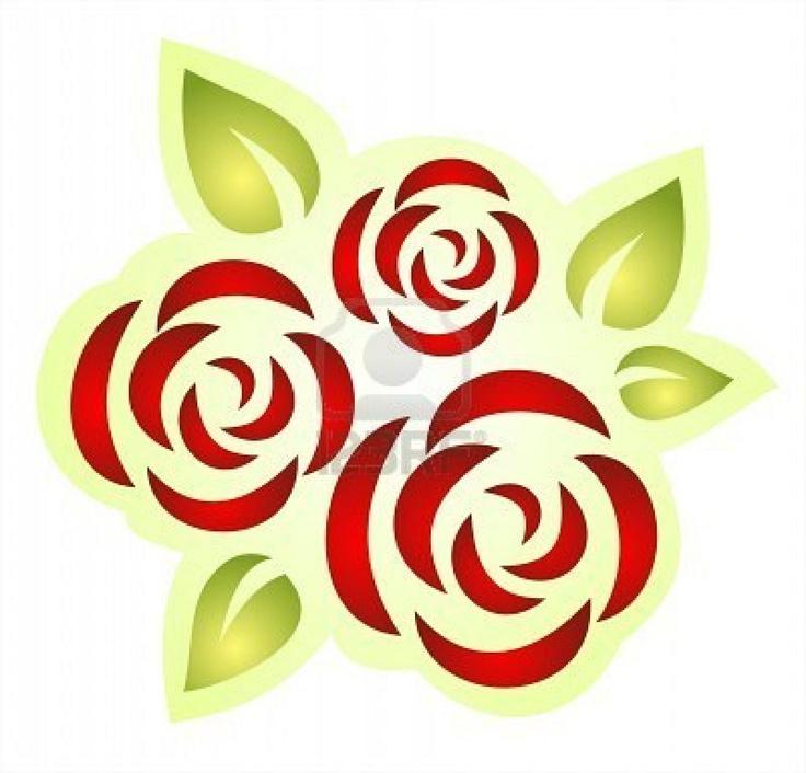 rose stencil                                                       …