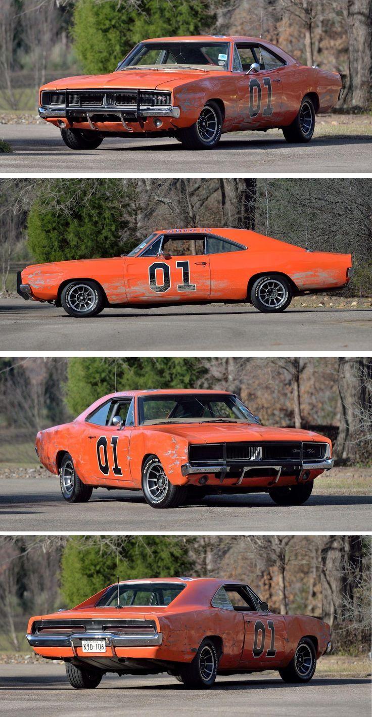 1969 Dodge Challenger For Sale : dodge, challenger, Sale:, Original, Dukes, Hazzard, Movie, Stunt, Cars,, General