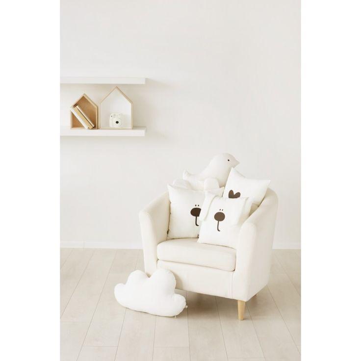"Decorative pillow cushion cover ""Honey Bear"""
