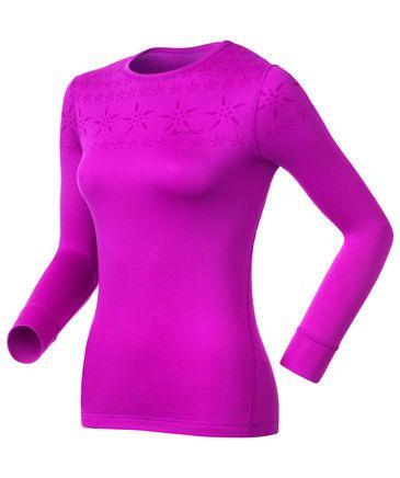 Damen Unterhemd / Funktionsunterhemd Shirt l/s Crew Neck Warm Trend First Layer
