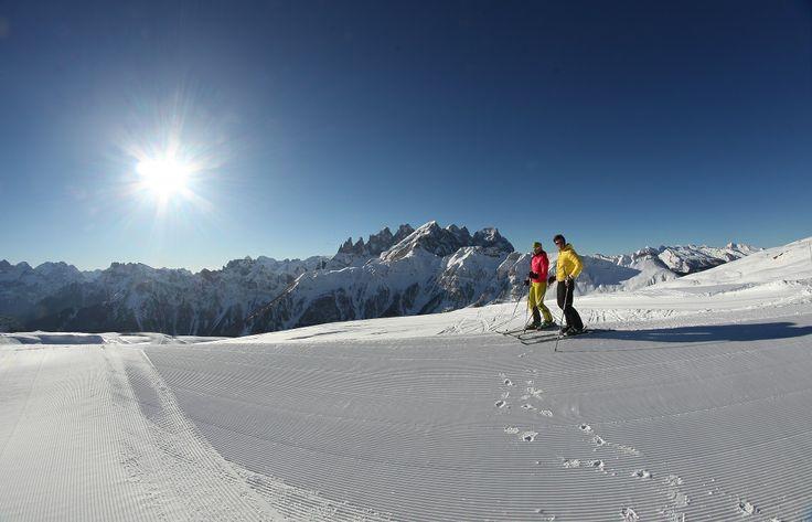Falcade - Passo San Pellegrino - TreValli Ski Area #dolomitistars
