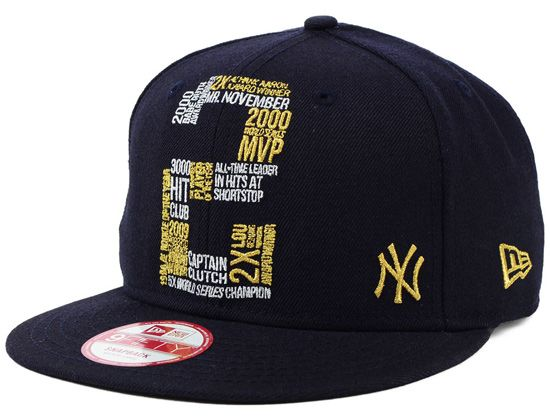 sickest cap .....New York Yankees Derek Jeter Collection 9FIFTY Snapback Cap by NEW ERA x MLB