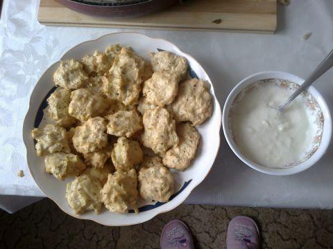 Chiftelute pui cu sos de iaurt | Dieta Dukan