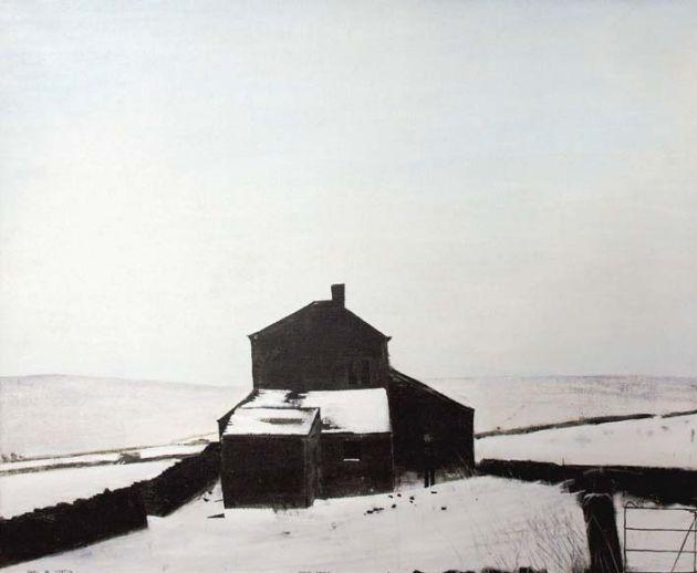 Ruins in Winter  - Peter  Brook