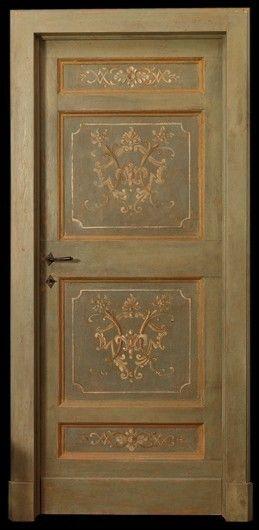 Reproduction Of Antique Painted Door Windows Doors And