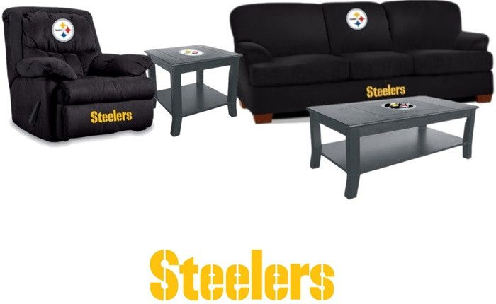Superb Pittsburgh Steelers NFL Supreme Fan Cave Set