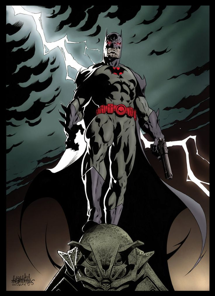 Batman Flashpoint Thomas Wayne color by garnabiuth.deviantart.com on @DeviantArt