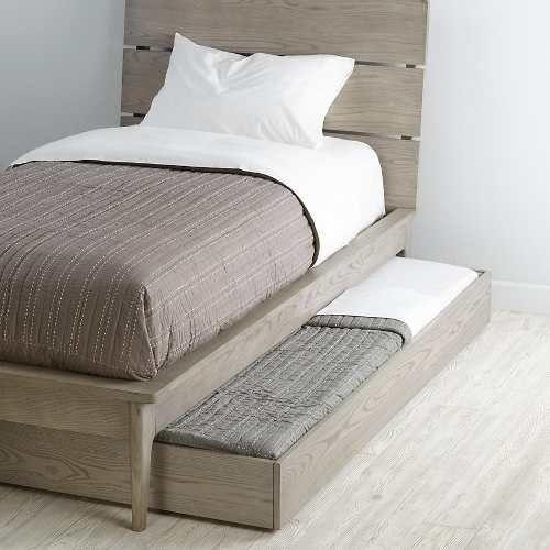 M s de 25 ideas incre bles sobre cajones bajo cama en for Base cama almacenaje