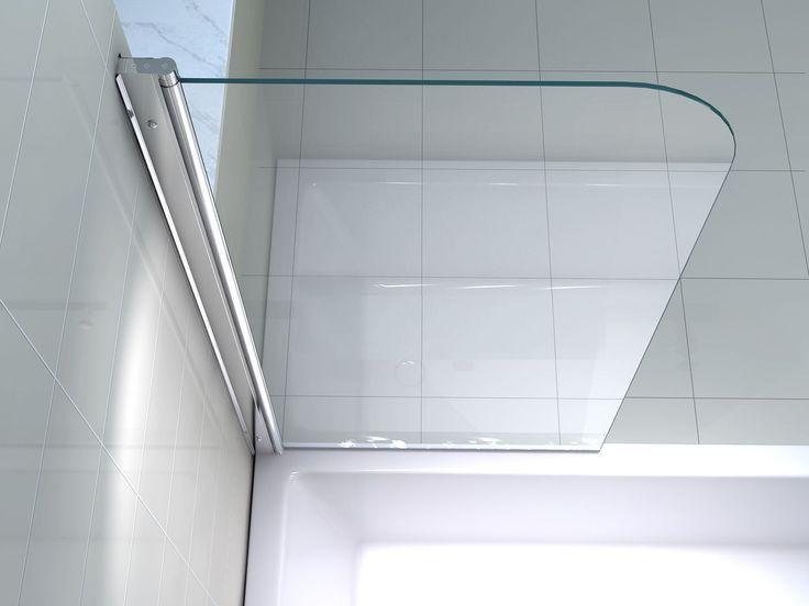 Echt Glas 6 mm Duschabtrennung Duschwand Faltwand
