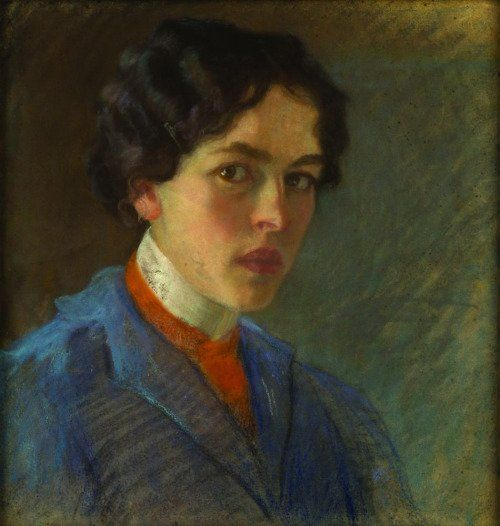 Nasta Rojc Self-Portrait 1915