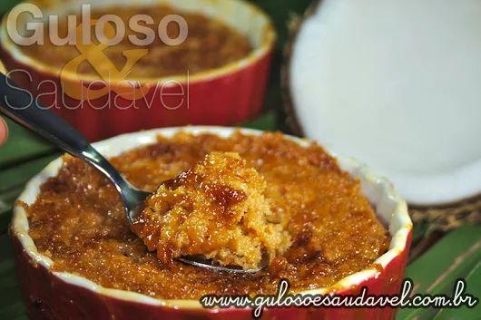 Não existe época certa para saborear uma deliciosa Cocada Gratinada Sem Lactose! É sempre muito bem vinda.  #Receita aqui: http://www.gulosoesaudavel.com.br/2012/10/19/cocada-gratinada/