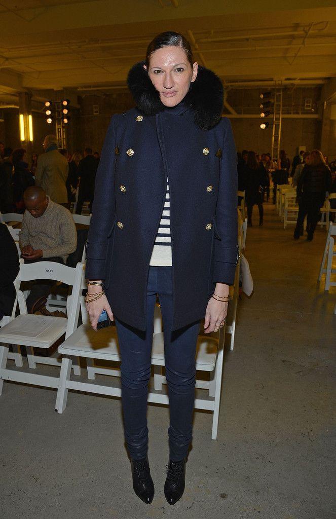 jenna lyons style | Jenna Lyons - Altuzarra - Front Row - Fall 2013 Mercedes-Benz Fashion ...