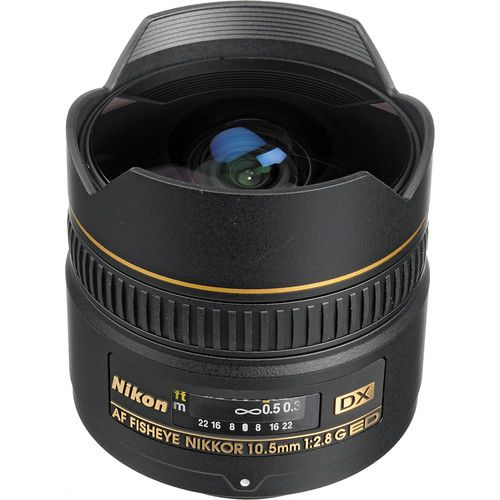 Lente Nikon 10.5mm f/2.8G ED DX Fisheye Olho de Peixe